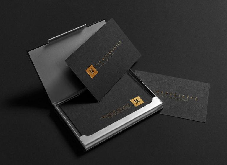 Agence de communication PACA 06 Imprimeur haut de gamme Cartes de visite luxe prestige
